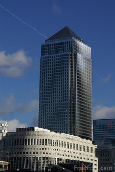 One Canada Square Canary Wharf Tower, London