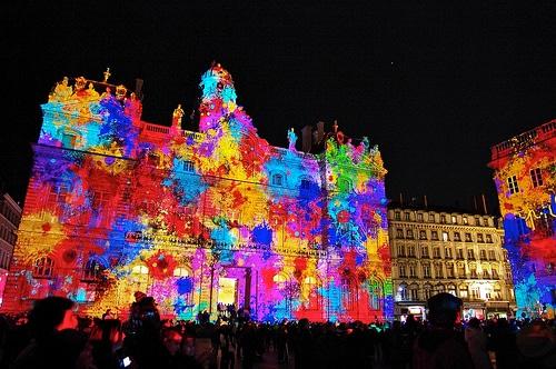 Resultado de imagen para fiesta de luces de lyon