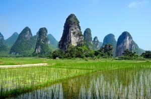 Sorteo Gratis por las colinas y ríos de Guilin