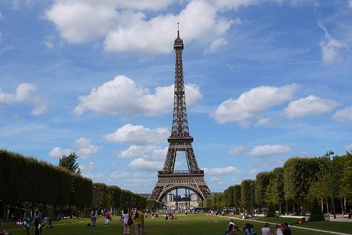 Concursos gratis  para ir París