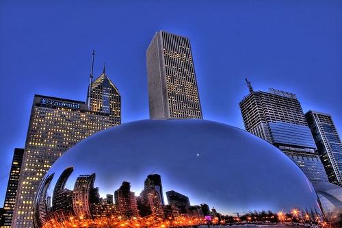 Viajr gratis, The Loop, Chicago