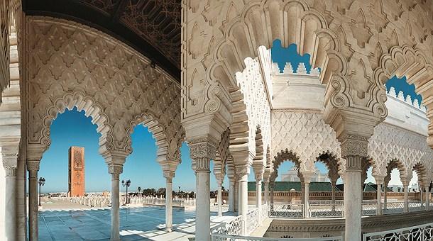 c mo es la arquitectura marroqu