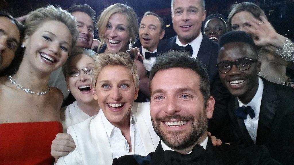 selfie Ellen Degeneres