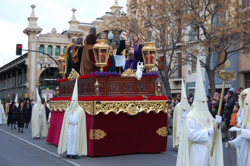 Última Cena, Semana Santa
