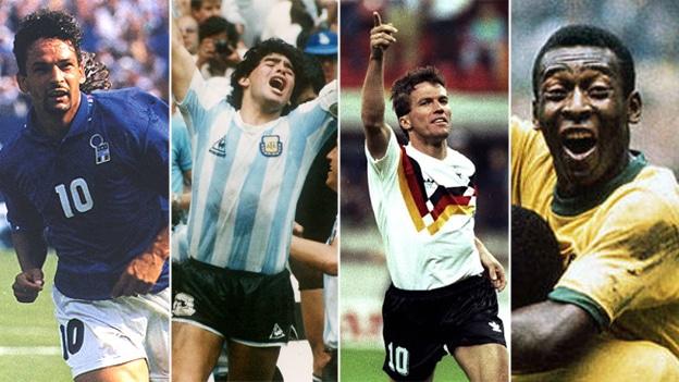 Los mejores goles de los mundiales