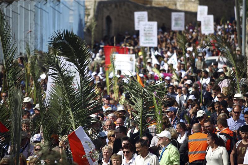 Semana Santa, Jerusalén.