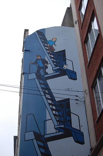 sorteo viaje a Bruselas la ciudad ilustrada