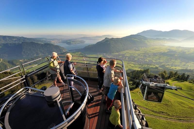 Disfruta de las mejores panoramicas de Suiza en 360