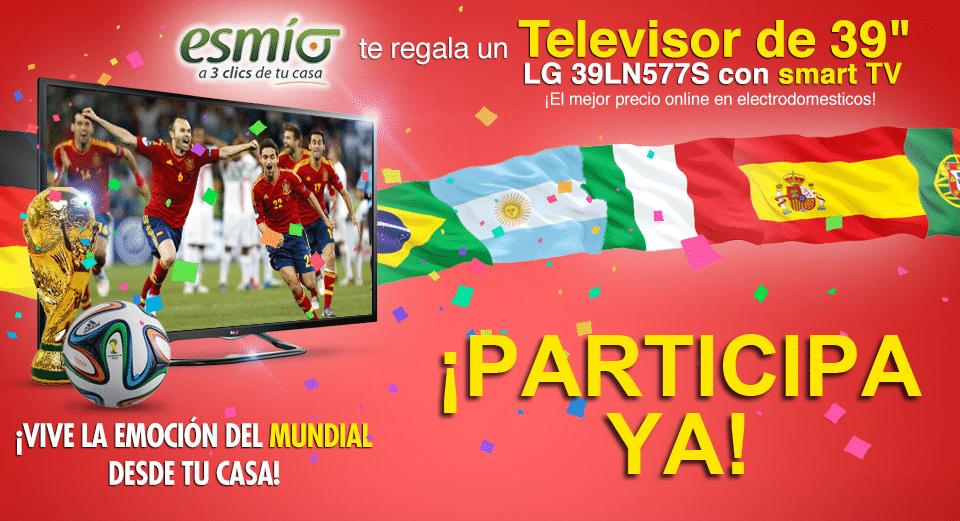 Sorteo Gratis, Concursos Online, Sorteo Televisor SmartTV