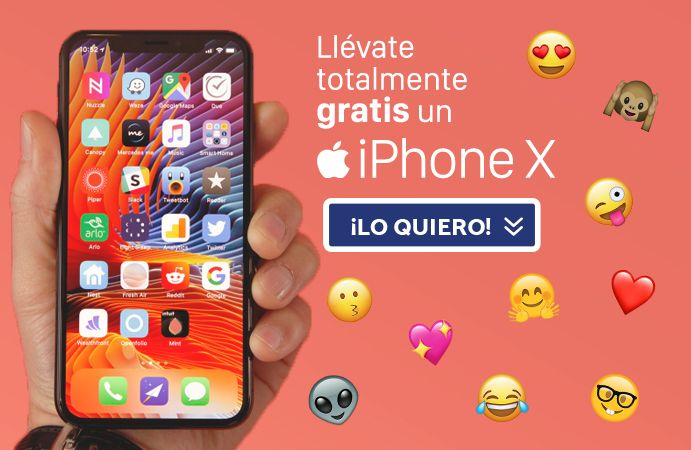 banner sorteo iPhone X perro que tomaron decisiones