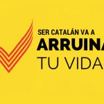 Haber nacido en Cataluña es haber nacido en la ruina