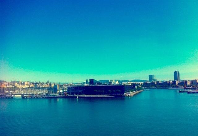 Las vistas desde la oficina son increíbles