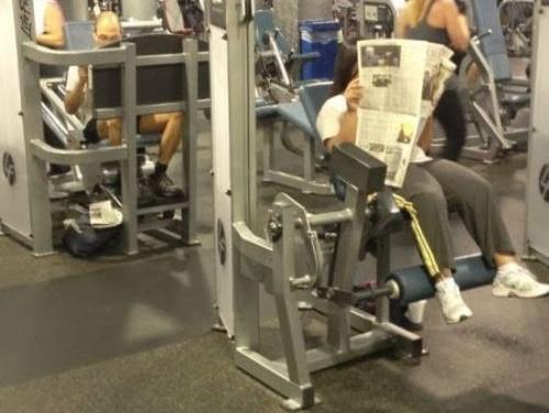 vaga en el gym