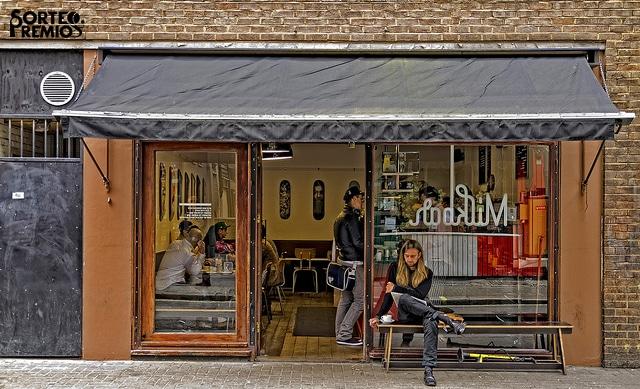 Londres está lleno de cafés y bares muy acogedores.