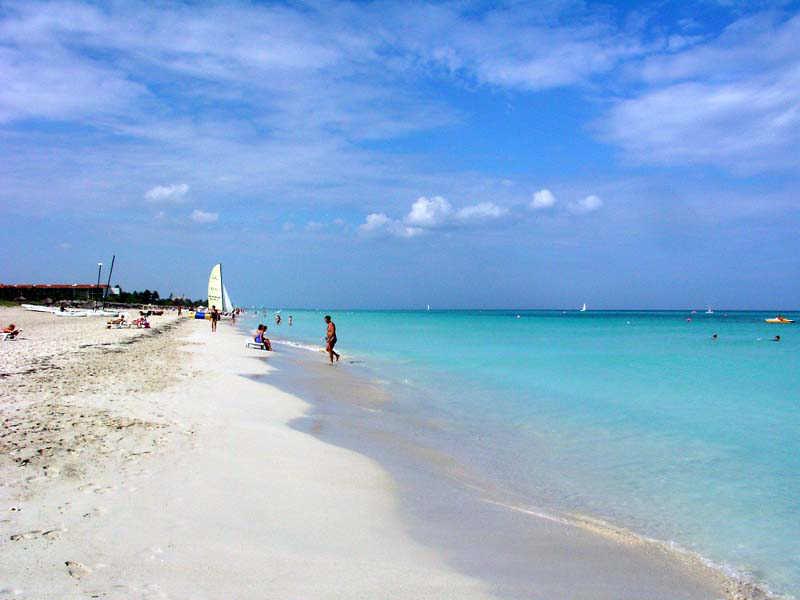 Si buscas playa y sol Varadero es tu paraíso.