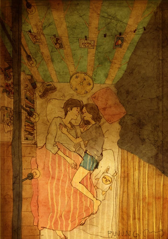 sweet-couple-love-illustrations-art-puuung-29__700