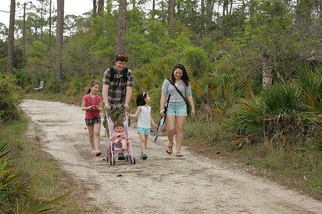paseo familia numerosa