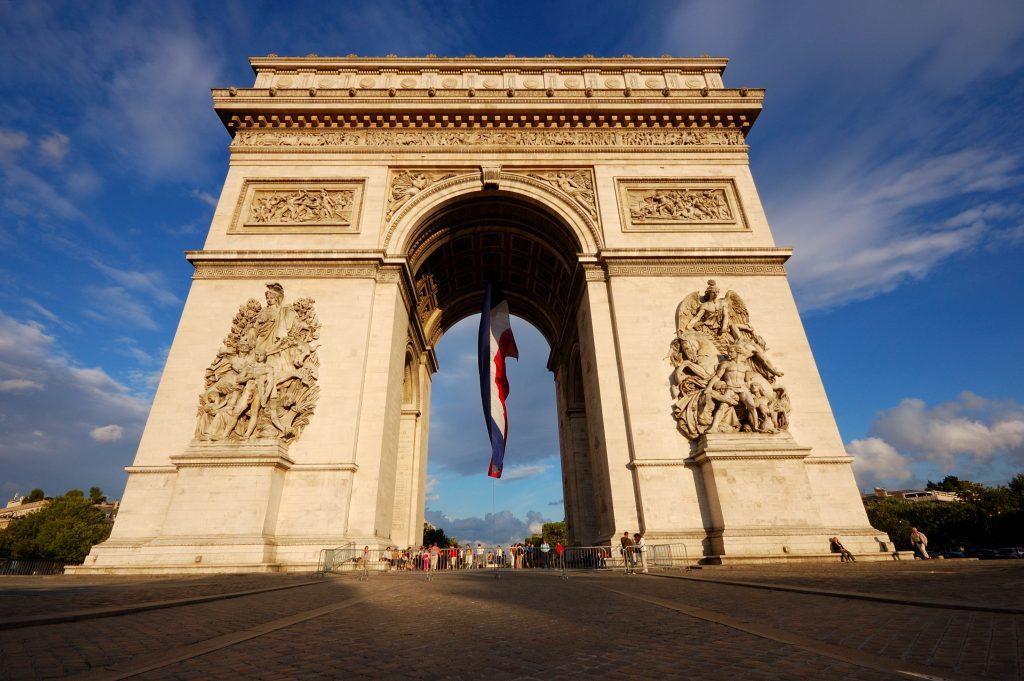 Paris- arco-triunfo- dos- días-