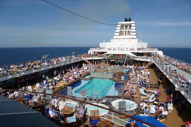 crucero, viaje organizado