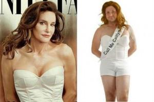 Desafortunado disfrace de Caitlyn Jenner.
