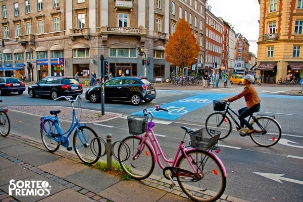 Visita Copenhague en bici