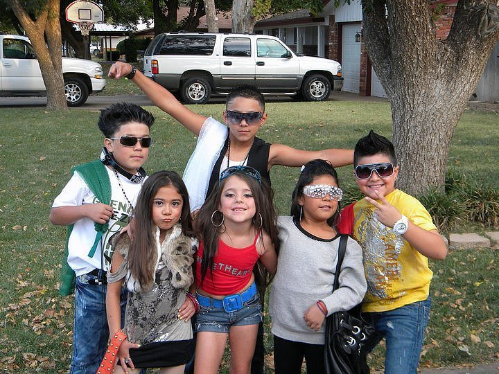 Un grupo de niños de Gandía Shore.
