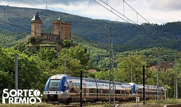 Viajar por Europa en tren.