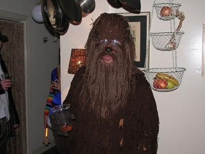 El Chewbacca más feo.