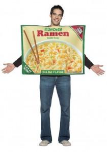 Disfraz paquete de Ramen.