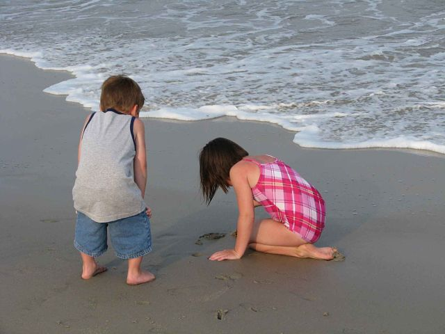 vacaciones familiares en la playa