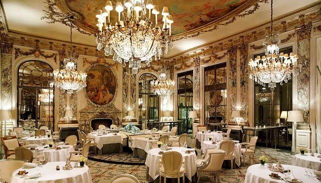 Los hoteles más lujosos de París