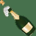 Emoticono de una botella de cava, por que siempre hay algo que celebrar en nuestra opinion.