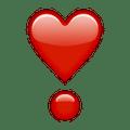 Dilo con un corazón, o bueno, esté emoji.