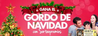Te damos la oportunidad de participar en la Lotería de Navidad con SorteoPremios