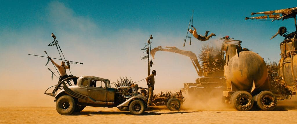 Foto de las coches guays de Mad Max