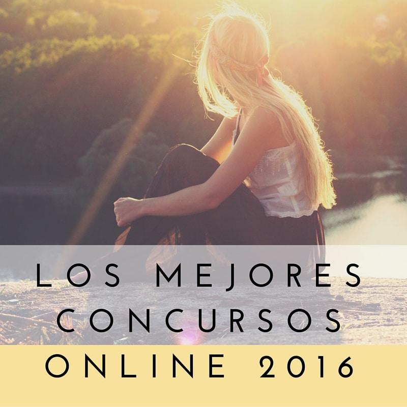 LOS MEJORES CONCURSOS ONLINE 2016