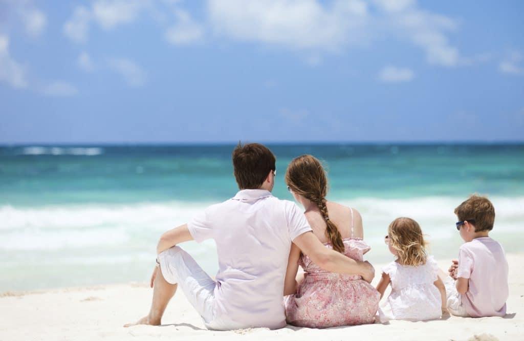 vacaciones familiares con niños