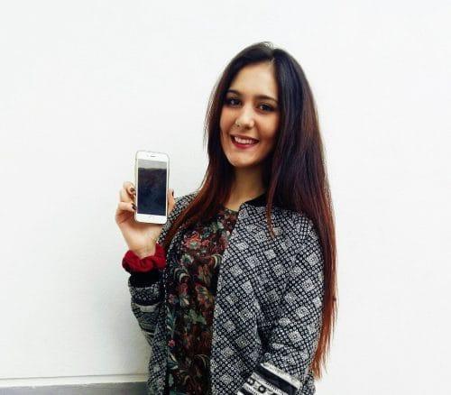 ganadora iphone 6 sorteopremios
