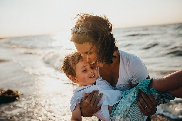 el dia de la madre con hijo