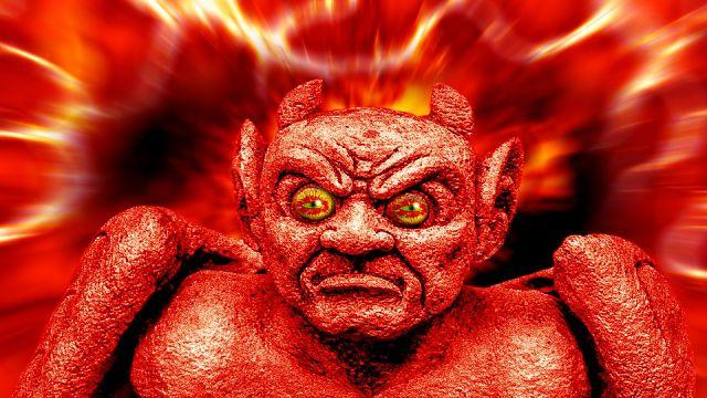 historias de miedo Diablo beso del infierno