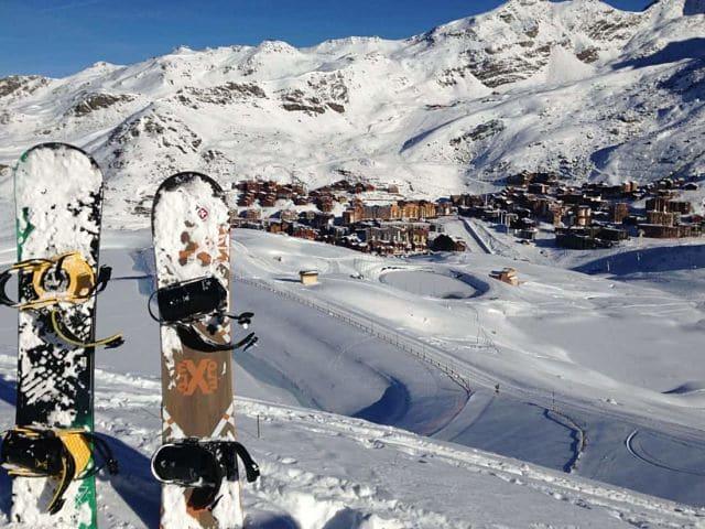 planes de diciembre en la montaña