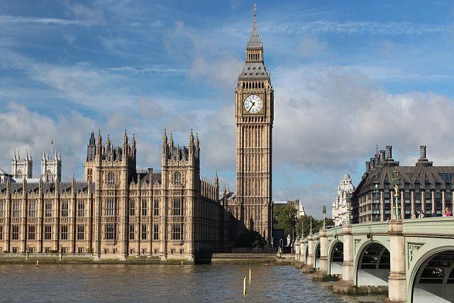 Puente de diciembre en Londres
