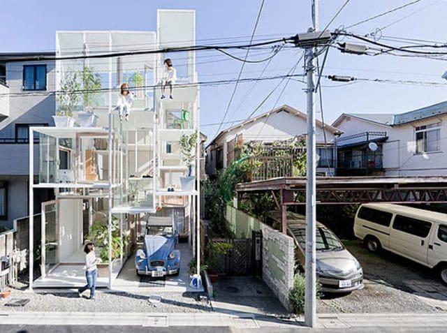 casa transparente - vivirias en las casas más raras del mundo