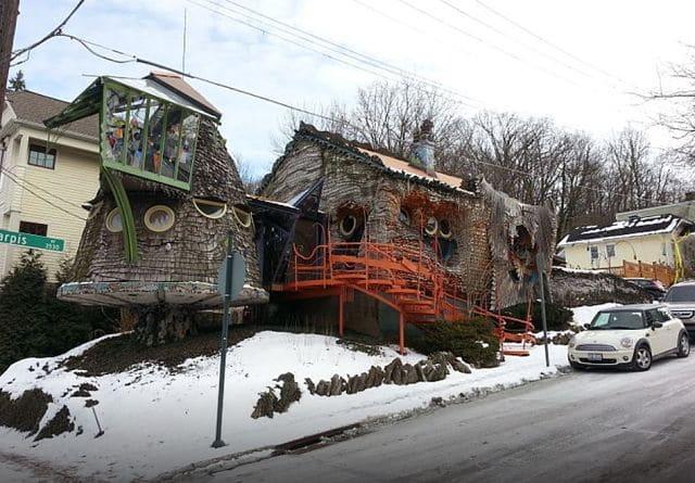 casas más raras - la casa seta