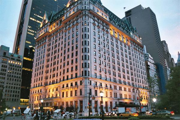 foto hotel plaza viaje a Nueva York