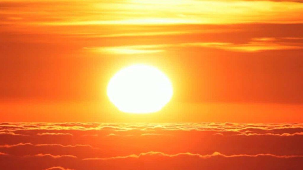 fotografia del sol significado del color amarillo