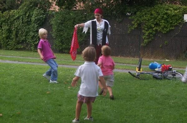 juego de niños el pañuelo