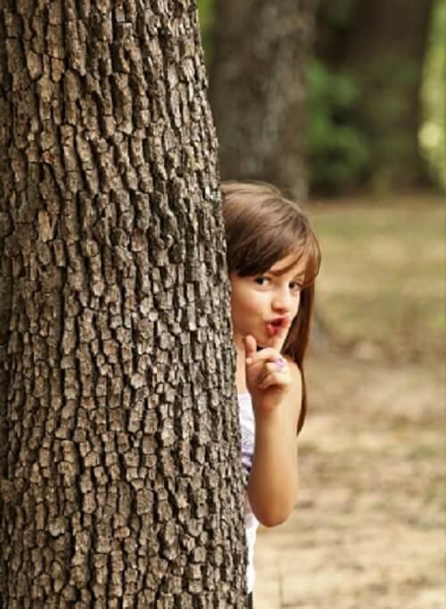 juego de niños el escondite