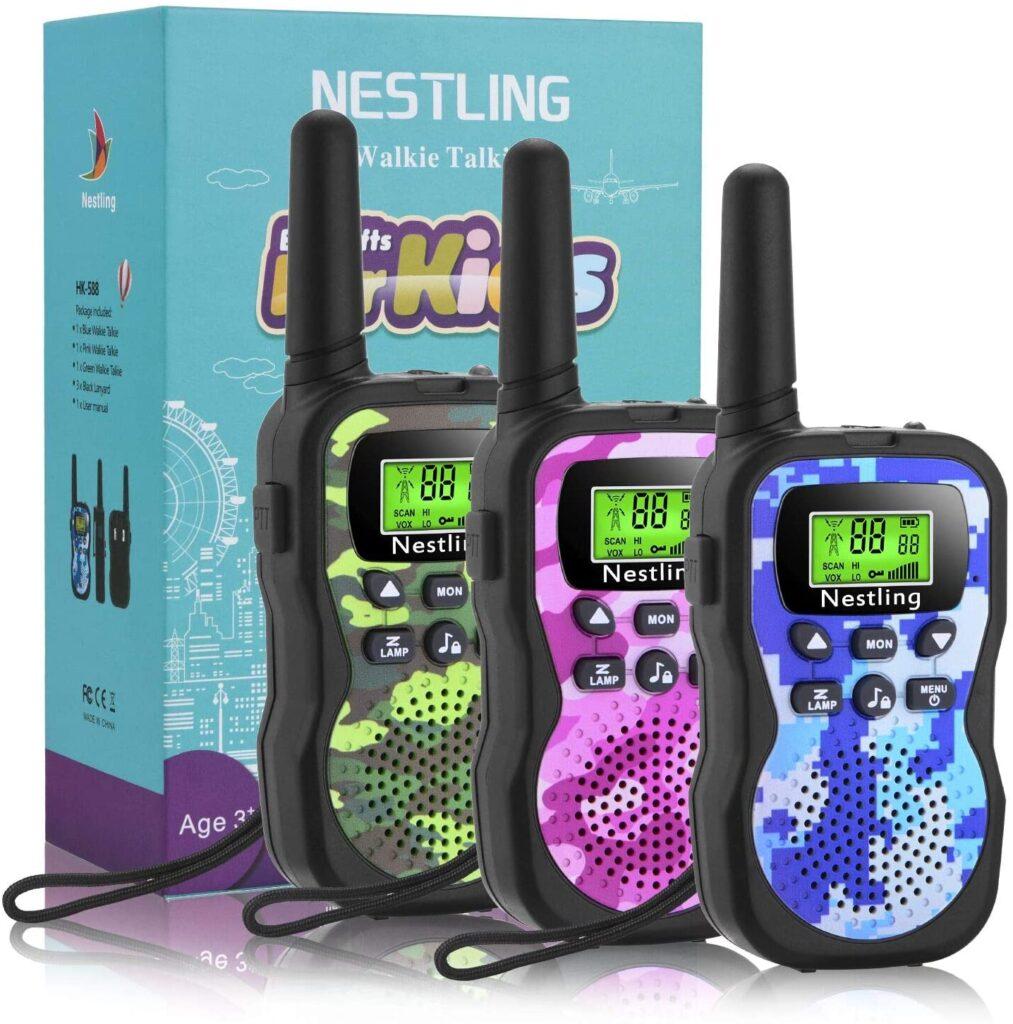 regalo para niños walkie talkie