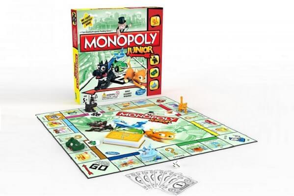 regalo para navidades monopoly junior